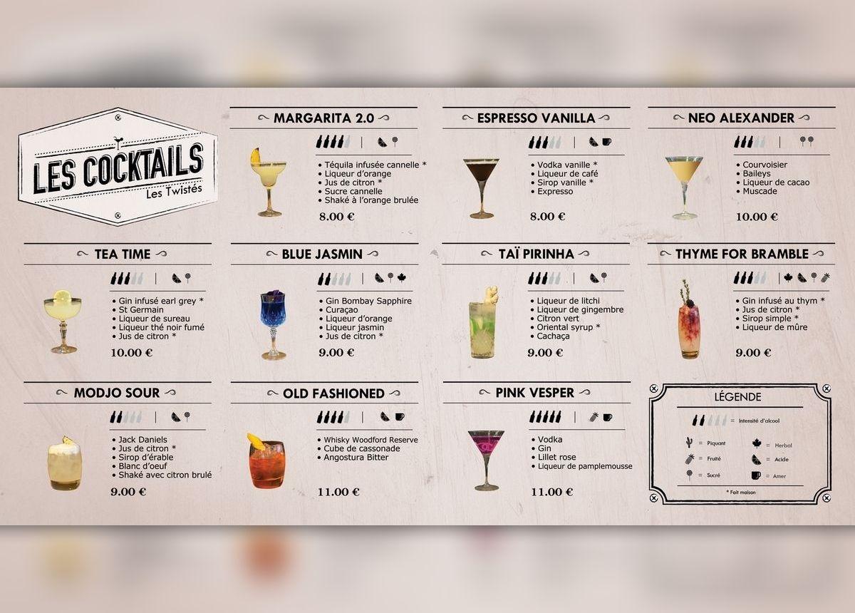 Cocktails Le Furco