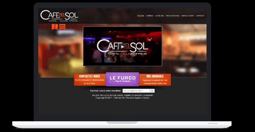 Laptop Café Del Sol